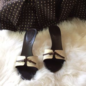 """""""Gucci"""" Authentic Heeled Slides"""